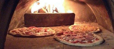 Wat de pot schaft, pizza-oven