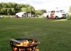 Voorkorf bij de kampeerplaats